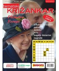 Tematski Križankar - Plemstvo Evrope