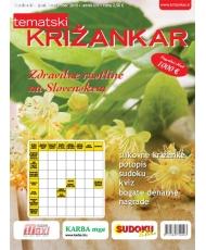 Tematski Križankar - Zdravilne rastline na Slovenskem
